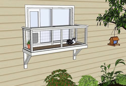 catio windowbox cat enclosure diy catio plan medium catiospaces.com