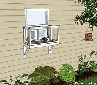 small window box catio diy catio plan cat enclosure catiospaces
