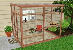 catio cat enclosure diy catio plan sanctuary 8x10 catiospaces