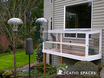 catio cat enclosure enrichment Sanctuary interior catiospaces