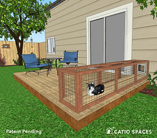 Catiospaces Tunnel Diy Cat Tunnel Catio Plan Deck Big
