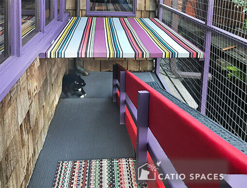 catio cat enclosure custom patio catio spaces