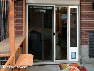 Cat Door Patio Catio Catiospaces 320wm 1