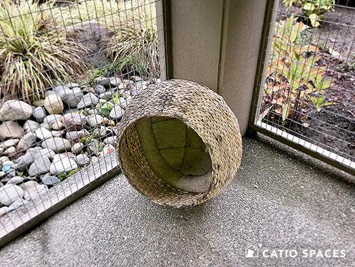 Catio Cat Enclosure Shade Wicker Dome Catiospaces 510 Wm