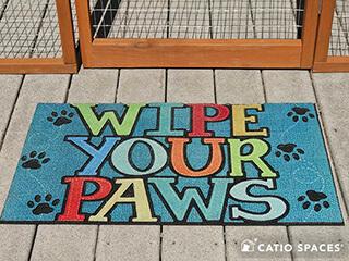 Catio Cat Enclsoure Mat Wipe Paws Catiospaces 320 Wm