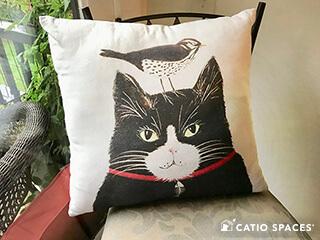 Catio Cat Enclsoure Pillow Cat Bird Catiospaces 320 Wm