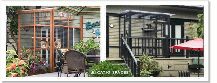Catiospaces Diy Catio Plans Sanctuary Exterior Plan