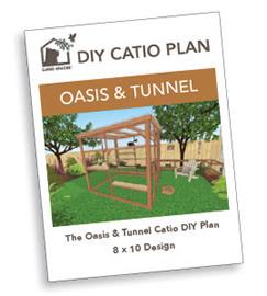 Oasis Tunnel Diy Catio Plan Fan Image 270