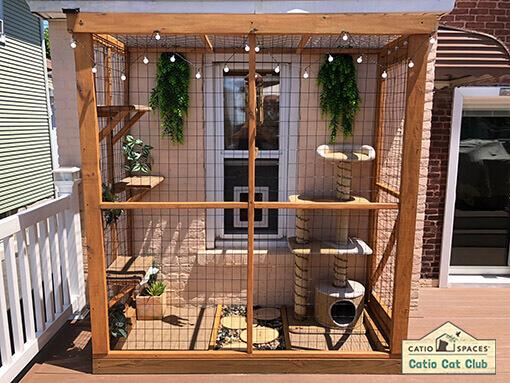 Pickles Haven Diy Catio Cat Enclosure Catiospaces