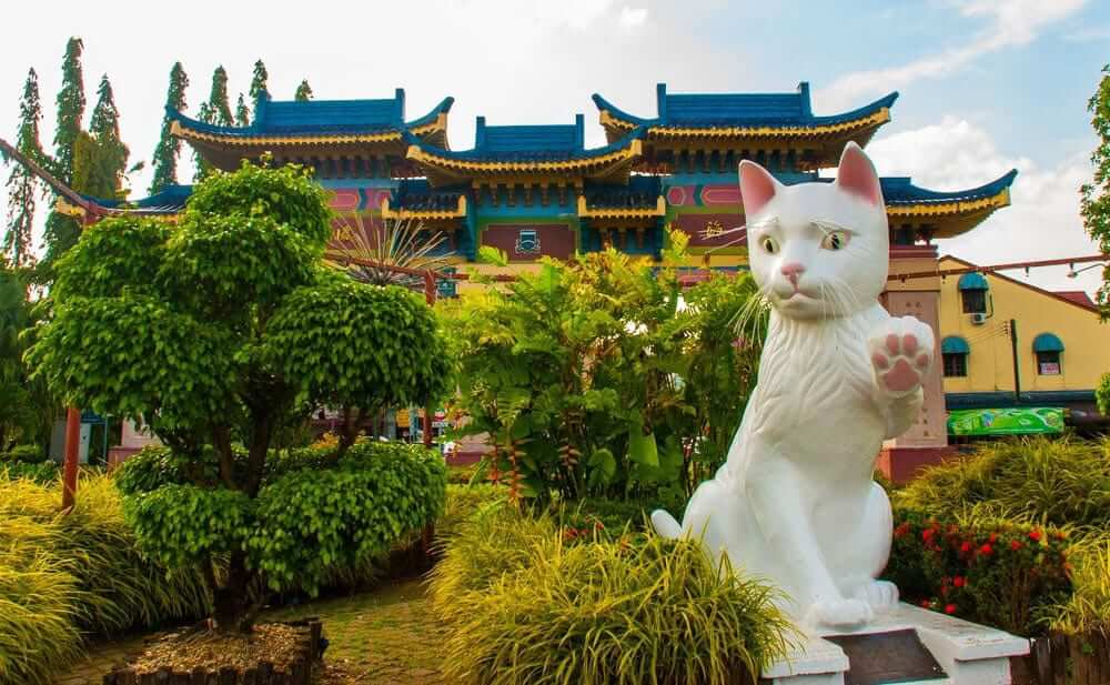 Cat Statue Kuching City