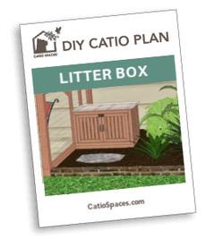Catio Cat Enclosure Litter Box Diy Plan Catiospaces