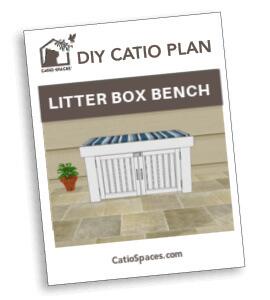 Catiospaces Cat Enclosures Diy Litter Box Plan Fan