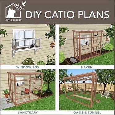 Catio Diy Plans Cat Enclosure Catiospaces