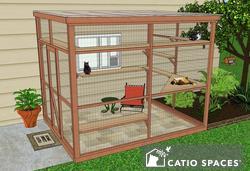 Catio Cat Enclosure Diy Catio Plan Sanctuary 8x10 Catiospaces