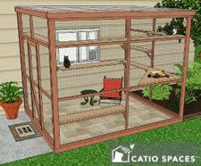 Catio Diy Catio Plan Cat Enclosure Sanctuary 8x10 Catiospaces1