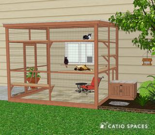 Catio Litter Box Exterior Wide Catiospaces 1
