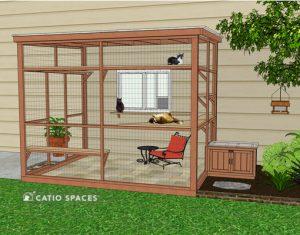 Catio Litter Box Diy Exterior Sanctuary 510 Wm Catiospaces