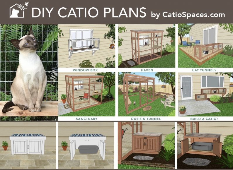 Diy Catio Plans 8 Up With Litter Boxes 1200 942.catiospaces